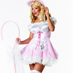 WOMANS Sexy Little Bo Peep costume NEW